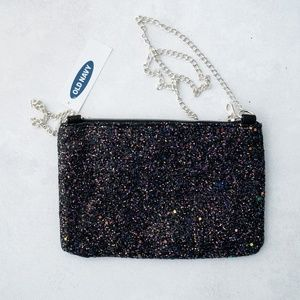 Old navy glitter purse. NWT.